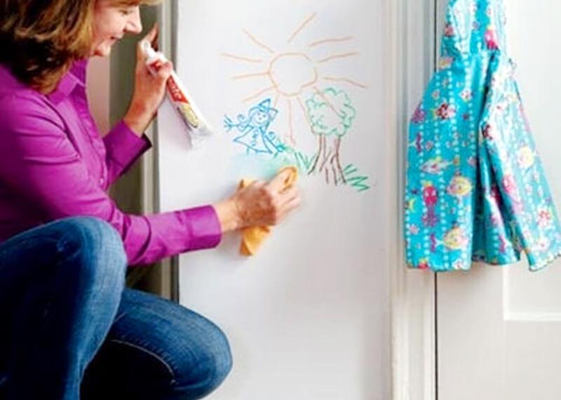 Diş macunu duvar temizleme