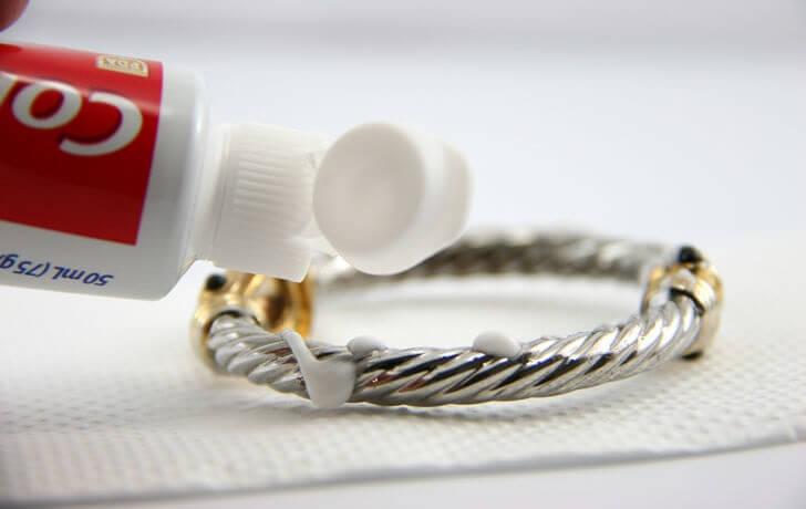 Diş macunu Gümüş temizleme